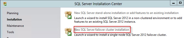SQL-setup